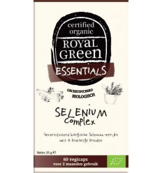 Royal Green Selenium complex 60 vcaps | € 16.15 | Superfoodstore.nl