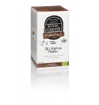 Mineralen Royal Green Selenium complex 60 vcaps kopen