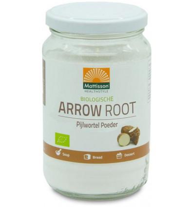 Mattisson Arrow root pijlstaartwortel poeder bio 190 gram |