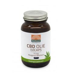 Mattisson CBD Olie 15 mg 60 vcaps | Superfoodstore.nl