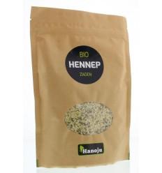 Hanoju Hennep zaden paper bag 250 gram   Superfoodstore.nl