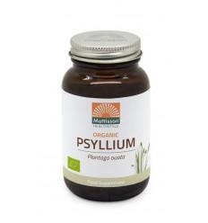 Mattisson Psyllium Husk 750 mg biologisch 90 vcaps |