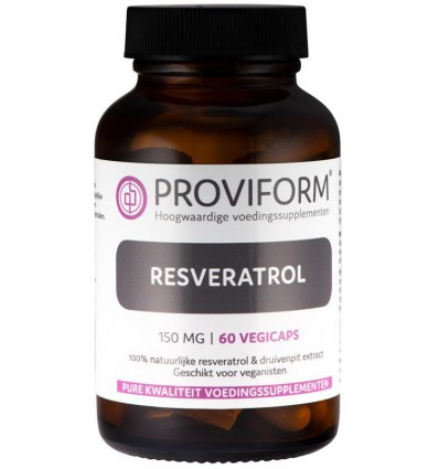 Proviform Resveratrol 150 mg 60 vcaps | Superfoodstore.nl