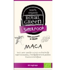 Royal Green Maca 60 vcaps | € 14.98 | Superfoodstore.nl