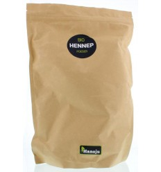 Hanoju hennep poeder paper bag 1 kg   Superfoodstore.nl