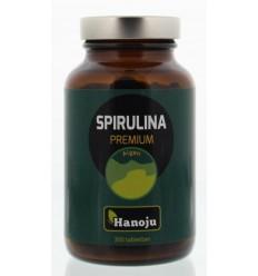 Hanoju Spirulina 400 mg premium 300 tabletten |