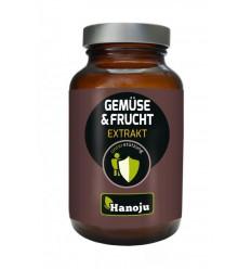Hanoju Groente en fruit extract 400 mg 90 vcaps |