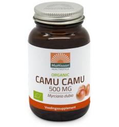 Mattisson Biologische camu camu 500 mg 60 vcaps |