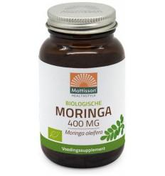 Mattisson Moringa 400 mg 60 vcaps | Superfoodstore.nl