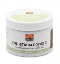 Mattisson Colostrum powder poeder 30% IgG 125 gram |