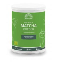 Mattisson Absolute matcha poeder instant bio 125 gram | € 13.35 | Superfoodstore.nl