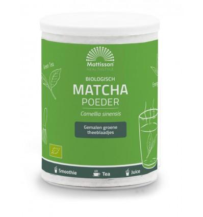 Poeders Mattisson Matcha powder poeder green tea 125 gram kopen
