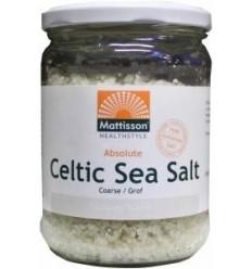 Mattisson Keltisch zeezout celtic sea salt grof 400 gram |