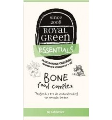 Royal Green Bone food complex 60 tabletten   Superfoodstore.nl