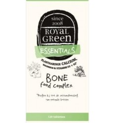 Royal Green Bone food complex 120 tabletten | € 49.49 | Superfoodstore.nl