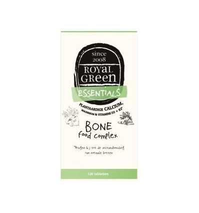 Royal Green Bone food complex 120 tabletten | € 46.35 | Superfoodstore.nl