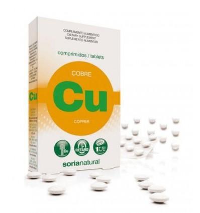 Soria Koper 1 mg 24 tabletten   Superfoodstore.nl