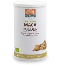 Mattisson Active Maca poeder bio 300 gram | Superfoodstore.nl
