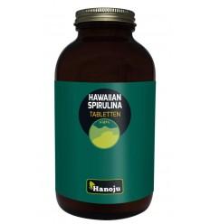 Hanoju Spirulina Hawaiiaans 500 mg 650 tabletten |