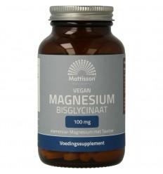 Mattisson Magnesium bisglycinaat 100 mg taurine 90 tabletten | € 13.75 | Superfoodstore.nl