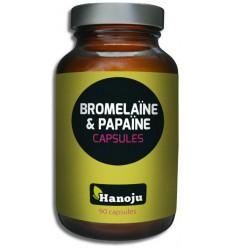 Hanoju Bromelaine papaja enzym 90 vcaps | Superfoodstore.nl