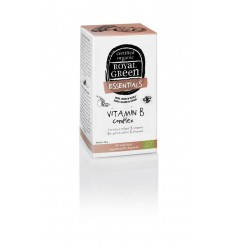 Royal Green Vitamine B complex 60 vcaps | € 25.09 | Superfoodstore.nl