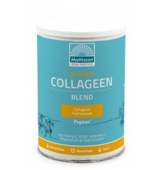 Mattisson Runder collageen poeder blend Peptan 300 gram |