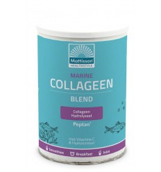 Mattisson Marine collageen poeder blend Peptan 300 gram |