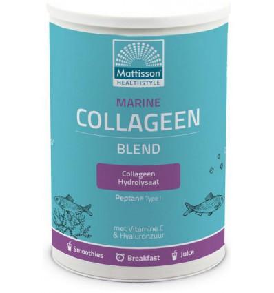 Vitamine C Mattisson Marine collageen poeder blend Peptan 300 gram kopen