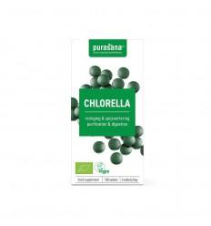 Purasana Chlorella vegan 180 tabletten | Superfoodstore.nl