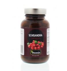 Hanoju Schisandra extract 400 mg 90 capsules   Superfoodstore.nl