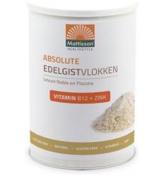 Mattisson Edelgistvlokken vitamine b12 + zink 200 gram |