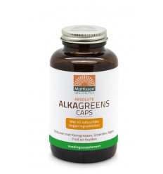Mattisson absolute alkagreens caps | € 15.15 | Superfoodstore.nl