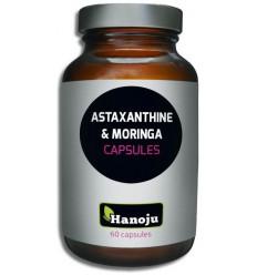 Hanoju Astaxantine & moringa 60 capsules | Superfoodstore.nl