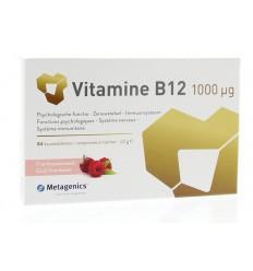 Metagenics Vitamine B12 1000 mcg 84 kauwtabletten |