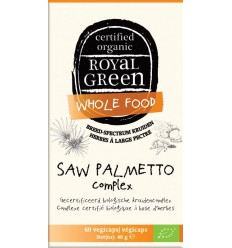 Royal Green Saw palmetto complex 60 vcaps | € 20.75 | Superfoodstore.nl
