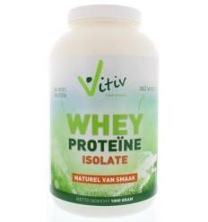Sportvoeding Vitiv Whey proteine isolaat 1 kg kopen