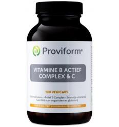 Proviform Vitamine B actief complex & C 100 vcaps |