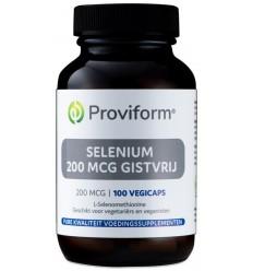 Proviform Selenium 200 mcg gistvrij 100 vcaps |