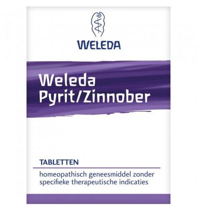 Homeopathie Weleda Pyriet zinnober 50 g 200 tabletten kopen
