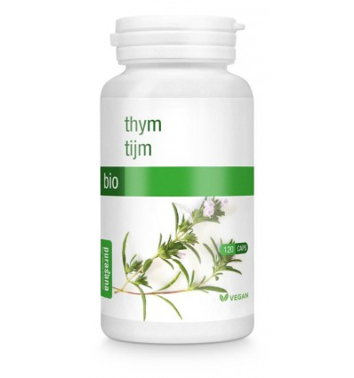 Purasana Bio tijm 250 mg 120 vcaps | € 12.86 | Superfoodstore.nl
