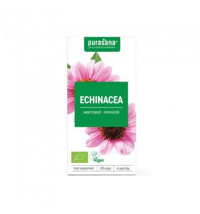 Purasana Bio echinacea 215 mg 120 vcaps | Superfoodstore.nl