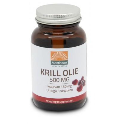 Mattisson Krill olie 500 mg 60 capsules kopen
