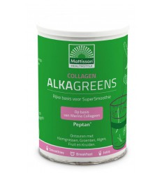 Mattisson Collageen AlkaGreens poeder 300 gram |