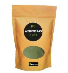 Hanoju Bio tarwegras poeder 250 gram | € 9.34 | Superfoodstore.nl