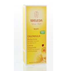 Weleda Calendula baby bodycreme 75 ml | € 7.39 | Superfoodstore.nl