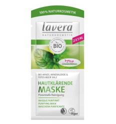 Lavera Masker/mask purifying mint 10 ml   Superfoodstore.nl