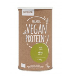 Purasana Vegan rijst proteine 400 gram | Superfoodstore.nl