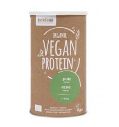 Purasana Vegan erwt proteine 400 gram | Superfoodstore.nl