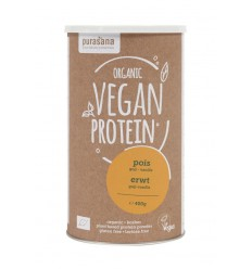 Purasana Vegan erwt proteine goji vanille 400 gram |